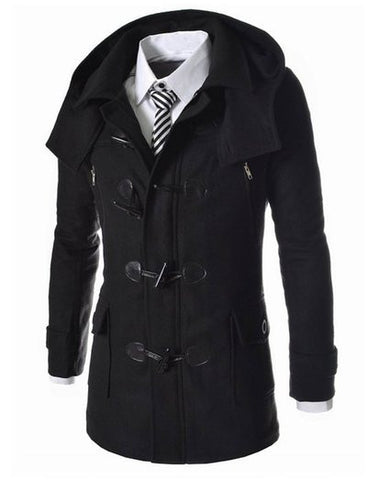 The Kensington Men's Wool Trench Coat