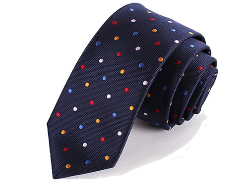 Classic Coloured Dots Tie