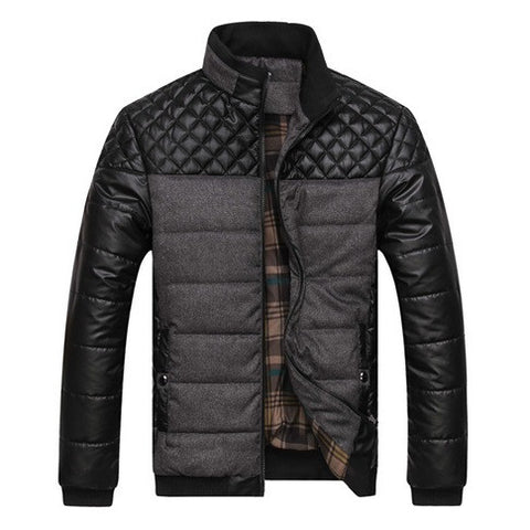Classic Men's Bomber Jacket