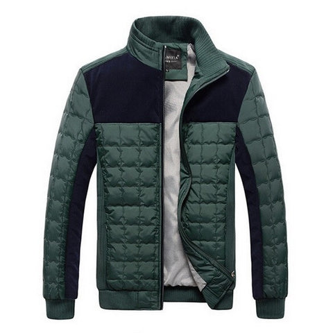Contemporary Men's Cube Shaped Jacket