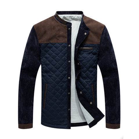 Iconic Quilted Men's Casual Jacket