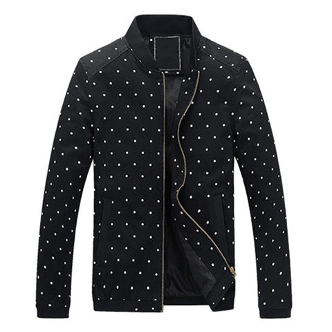 Iconic Men's Dotted Jacket