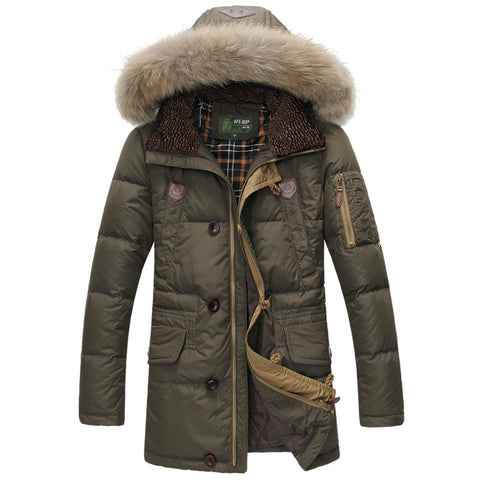 Iconic Men's Faux-Fur Hooded Parka