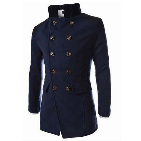 Royal British Men's Wool Coat