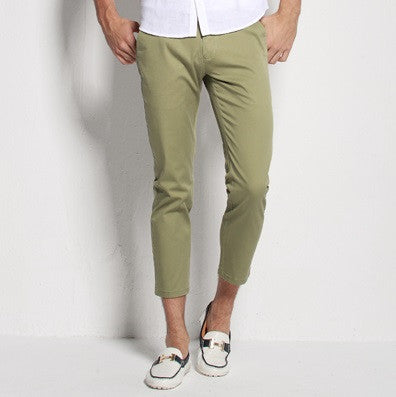 The Classic Men's Summer Style Chino Pants