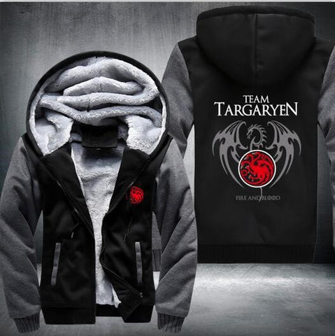 Game Of Thrones House Of Targaryen Hoodie