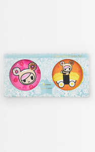 TDxAN Pink Sakura & Sushi Car Ceramic Coaster Set - A.Anne, Tokidoki, Ashlyn Anne, Fashion, Handbags, School, Bag, Accessories