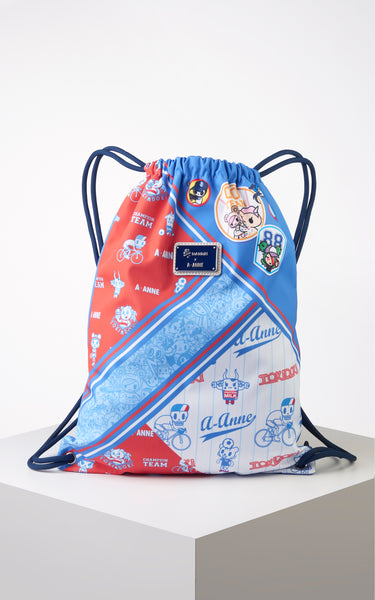 TDxAN Tokidoki Champion Drawstring Backpack - A.Anne, Tokidoki, Ashlyn Anne, Fashion, Handbags, School, Bag, Accessories