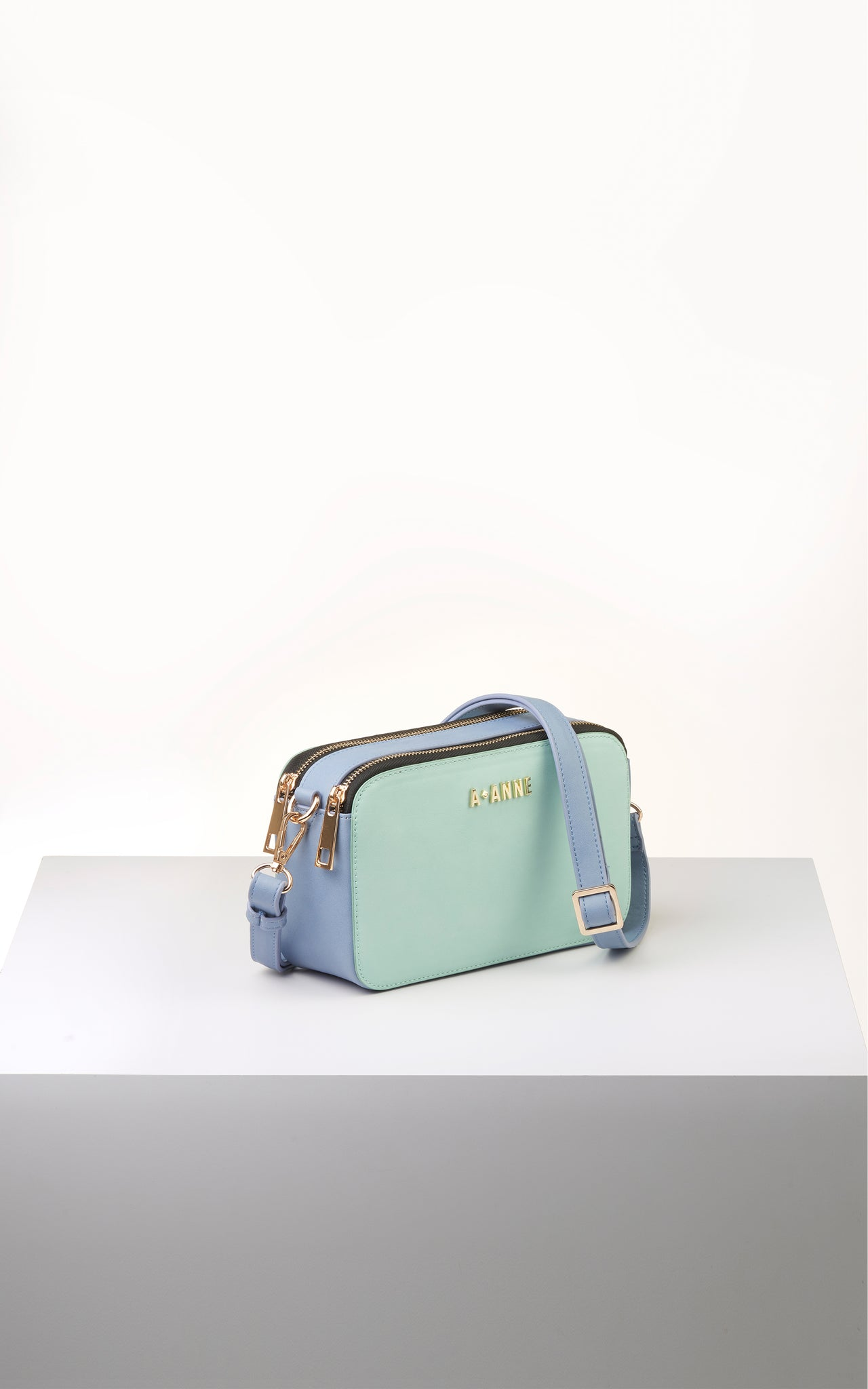 Mint Green Colourblock Crossbody - A.Anne, Tokidoki, Ashlyn Anne, Fashion, Handbags, School, Bag, Accessories
