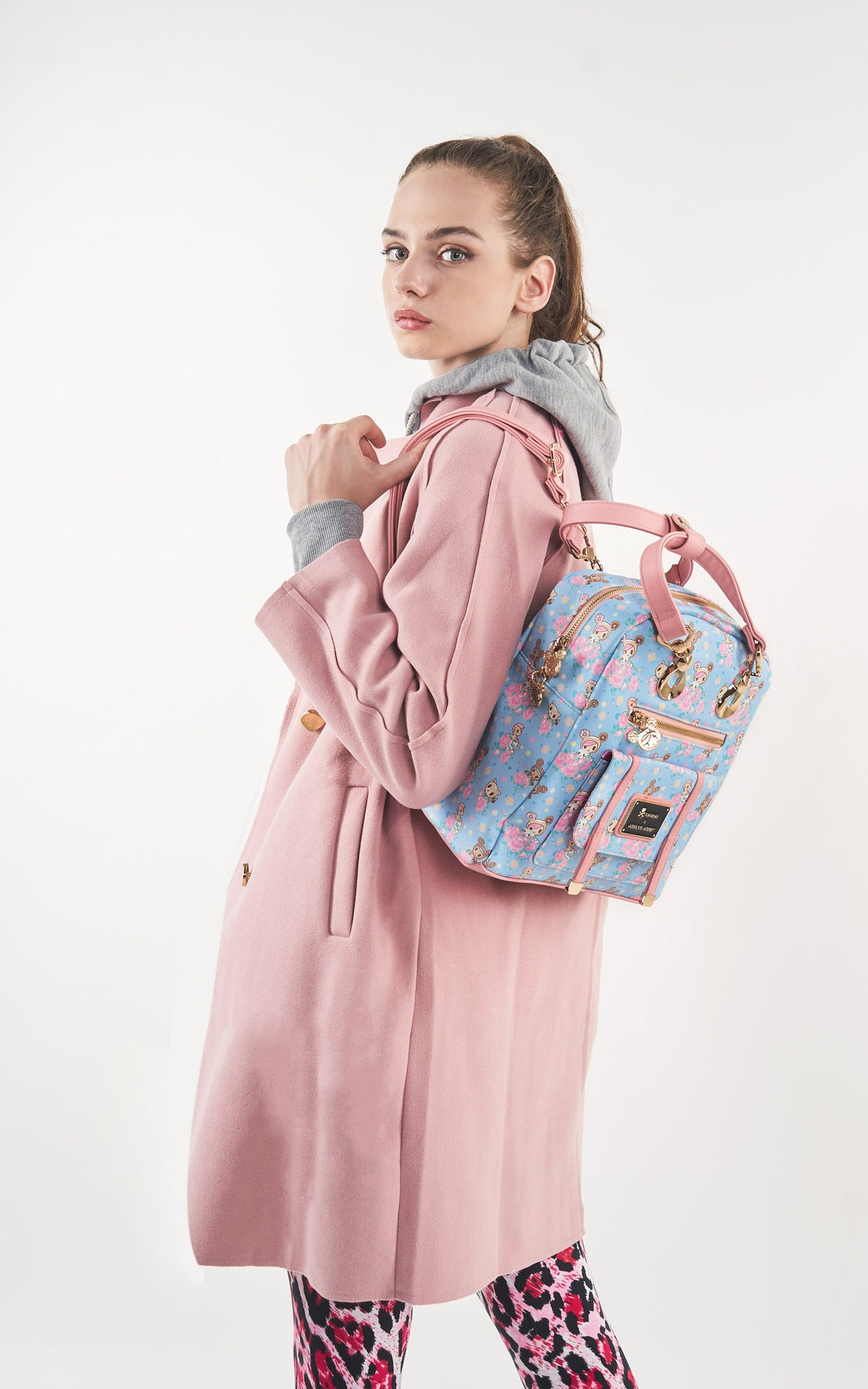 TDxAN Pastel Clover Backpack - A.Anne, Tokidoki, Ashlyn Anne, Fashion, Handbags, School, Bag, Accessories