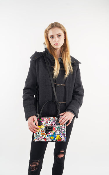 TDxAN Pop Garden Bowler Bag - A.Anne, Tokidoki, Ashlyn Anne, Fashion, Handbags, School, Bag, Accessories