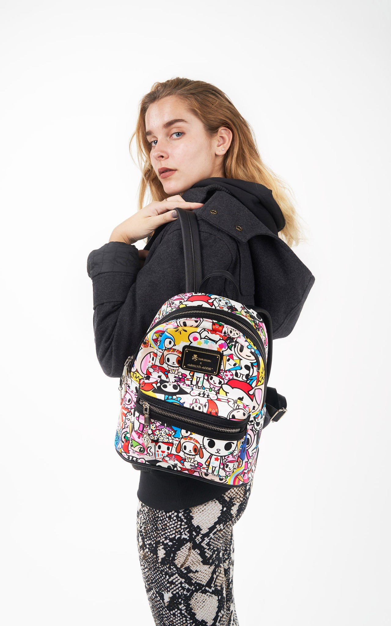 TDxAN Pop Garden Backpack - A.Anne, Tokidoki, Ashlyn Anne, Fashion, Handbags, School, Bag, Accessories