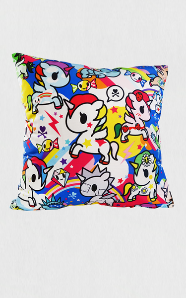 TDxAN Rainbow Thunder Cushion - A.Anne, Tokidoki, Ashlyn Anne, Fashion, Handbags, School, Bag, Accessories