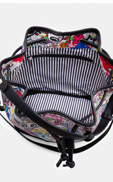 TDxAN Pop Garden Bucket Bag - A.Anne, Tokidoki, Ashlyn Anne, Fashion, Handbags, School, Bag, Accessories