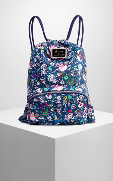 TDxAN Starry Night Drawstring Backpack - A.Anne, Tokidoki, Ashlyn Anne, Fashion, Handbags, School, Bag, Accessories