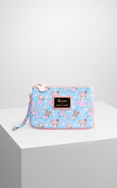 TDxAN Pastel Clover Wristlet - A.Anne, Tokidoki, Ashlyn Anne, Fashion, Handbags, School, Bag, Accessories