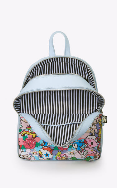 TDxAN Pop Camo (Blue) Backpack - A.Anne, Tokidoki, Ashlyn Anne, Fashion, Handbags, School, Bag, Accessories