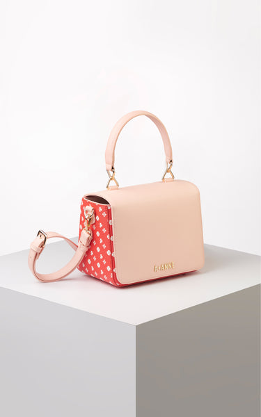 Clover Emblem Structured Handbag - A.Anne, Tokidoki, Ashlyn Anne, Fashion, Handbags, School, Bag, Accessories