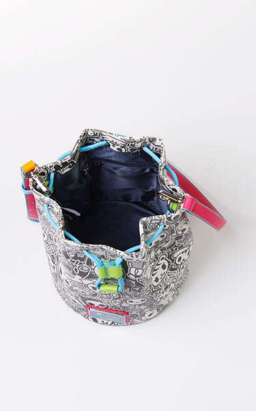 TDxAN Monochrome No. 1 Bucket Bag (Neon) - A.Anne, Tokidoki, Ashlyn Anne, Fashion, Handbags, School, Bag, Accessories