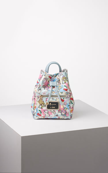 TDxAN Pastel Stories Mini Convertible Bucket Bag - A.Anne, Tokidoki, Ashlyn Anne, Fashion, Handbags, School, Bag, Accessories