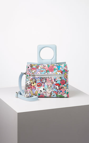 TDxAN Pop Camo (Blue) Handbag - A.Anne, Tokidoki, Ashlyn Anne, Fashion, Handbags, School, Bag, Accessories