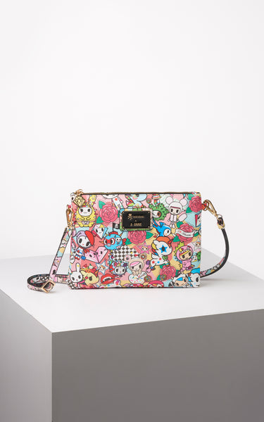 TDxAN Pop Camo (Red) Crossbody Clutch - A.Anne, Tokidoki, Ashlyn Anne, Fashion, Handbags, School, Bag, Accessories
