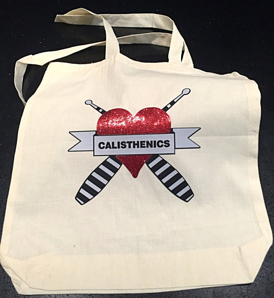 Calisthenics Tote Bag