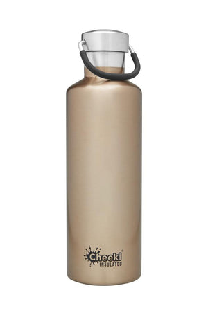Cheeki: 600ML Classic Insulated Bottle - Champagne