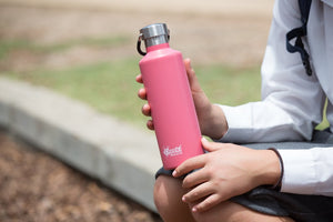 Cheeki: 600ML Classic Insulated Bottle - Dusty Pink