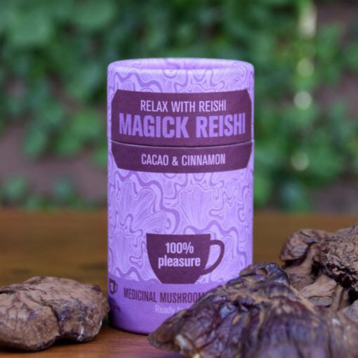 Life Cykel Magick Reishi with Cacao and Cinnamon Beverage