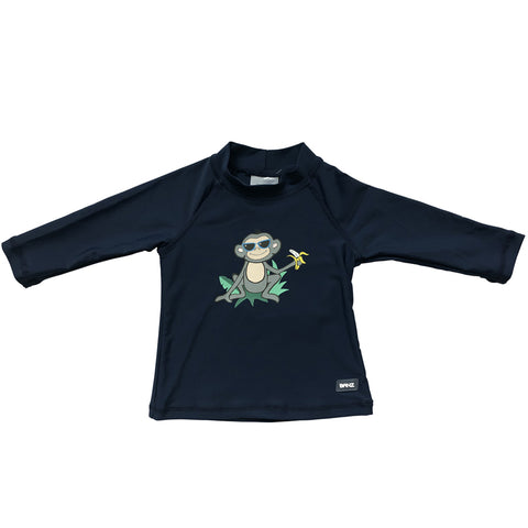 BANZ® Boys Long Sleeve Rash Top - Monkey