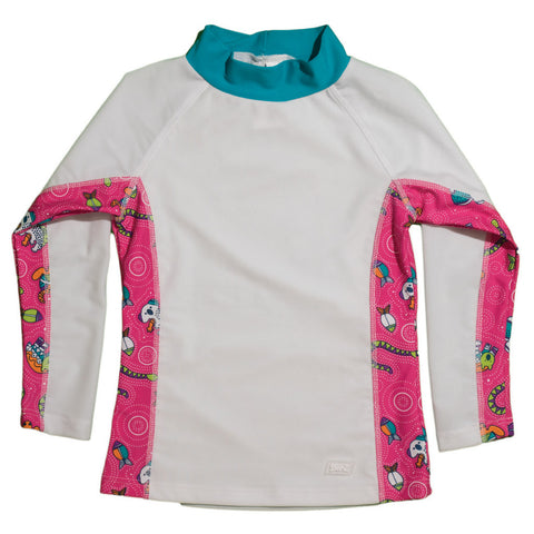 BANZ girls rash guard