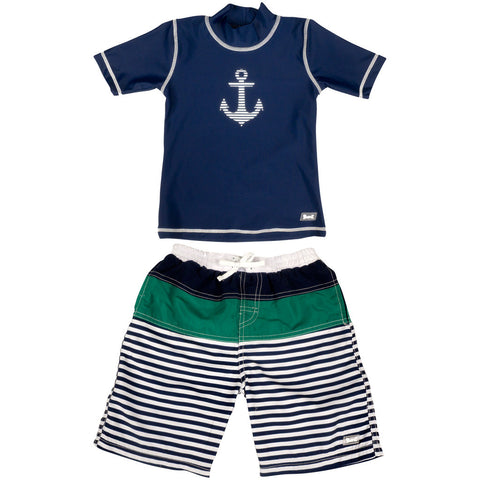 BANZ boys 2 piece swimsuit