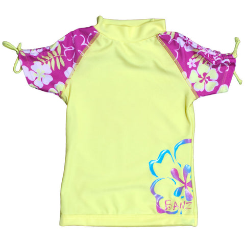 BANZ girls rash guard swimsuit