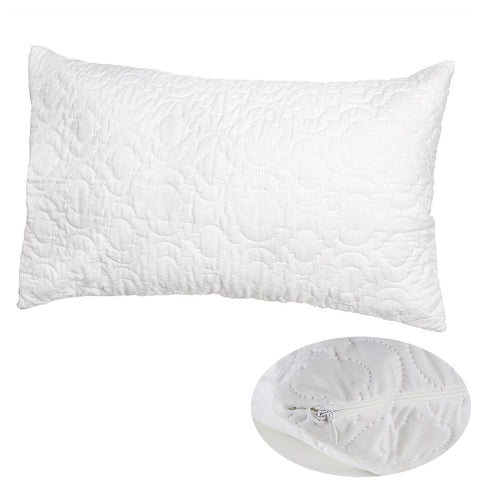 Brolly Sheets Waterproof Pillow Protectors, Quilted, 2 Packs