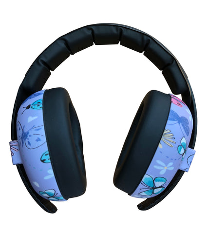 Banz Kids Earmuffs and Case Geo Lagoon