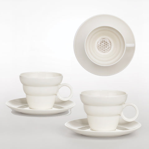 Teacup with Saucer Shinno 2 Sets