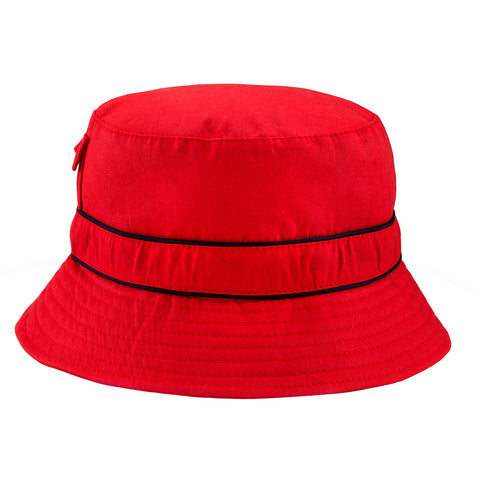 BANZ© Bucket Cotton Sun Hat - Red