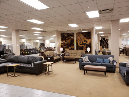 Furniture Express Occupies Former Herbergers in Paul Bunyan Mall