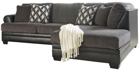 Kumasi Sectional Chaise - Smoke
