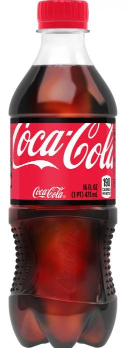 Coca-Cola - 17 oz Bottle