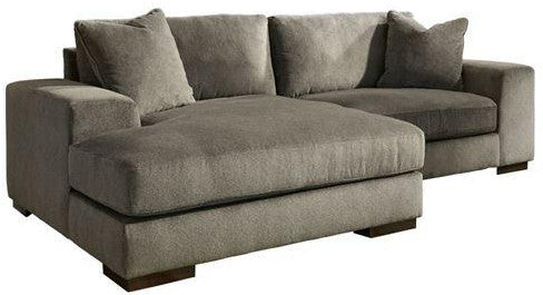 Manzani Sectional Chaise - Graphite