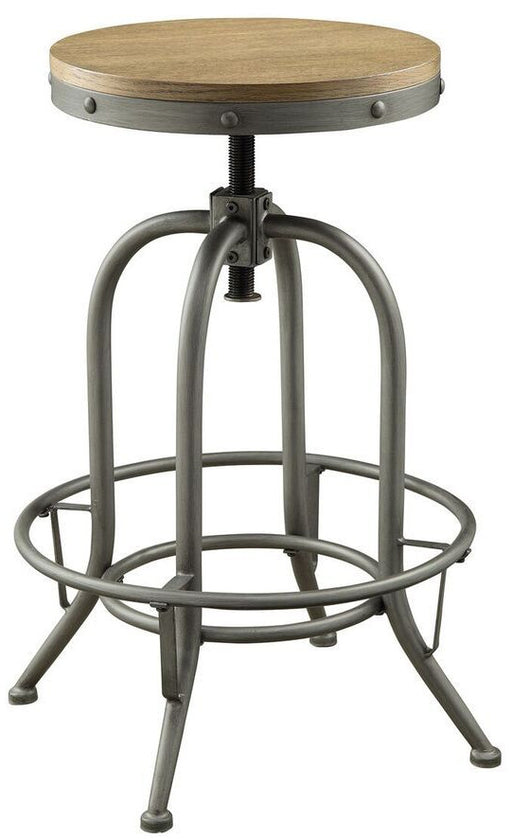 Industrial Bar Stool - Adjustable Height