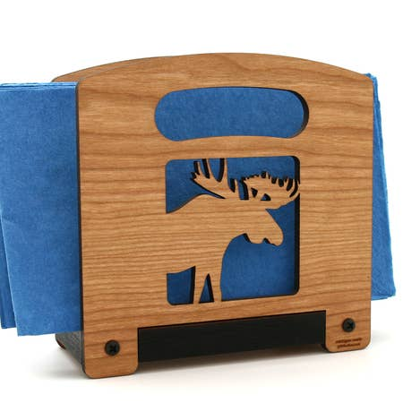 Animal - Napkin Holder - Moose