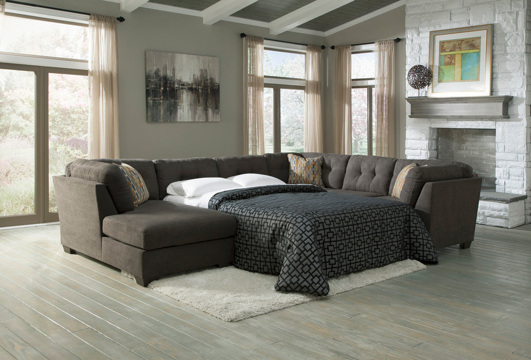 Remarkable Delta City Sectional Sleeper Available Furniture Express Beatyapartments Chair Design Images Beatyapartmentscom