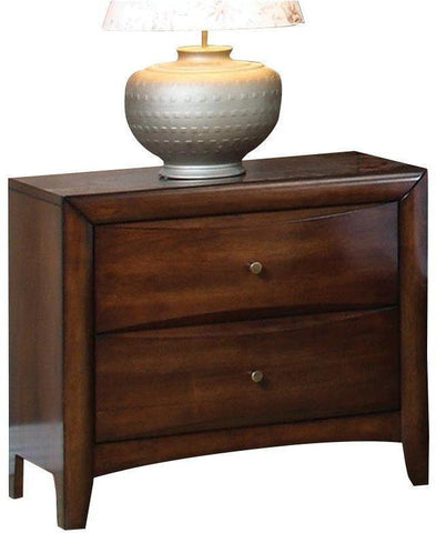 Hillary - Nightstand - Warm Brown