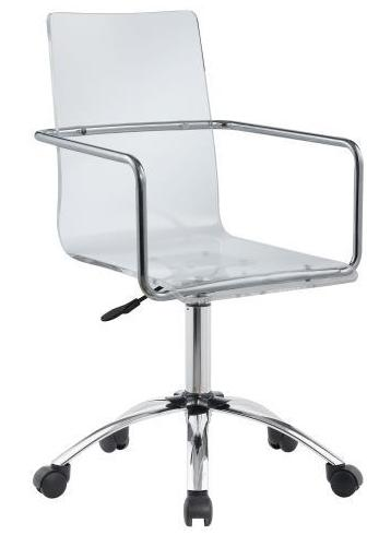 Acrylic Office Chair - Clear