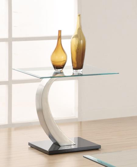 Ultra Modern Glass End Table
