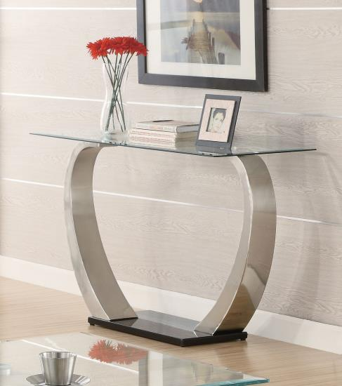 Ultra Modern Glass Sofa Table