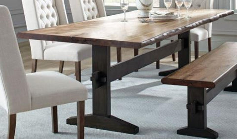 Burnham Dining Table - LIVE EDGE